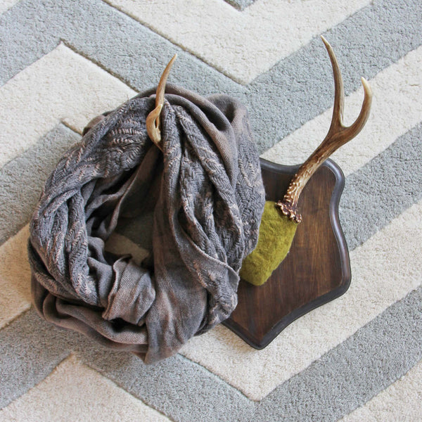 Ash & Smoke Scarf in Taupe: Featured Product Image