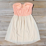 August Glow Dress in Peach: Alternate View #4