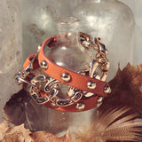 Autumn Links Bracelet: Alternate View #1