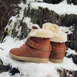 Ski Patrol Cozy Booties: Alternate View #3