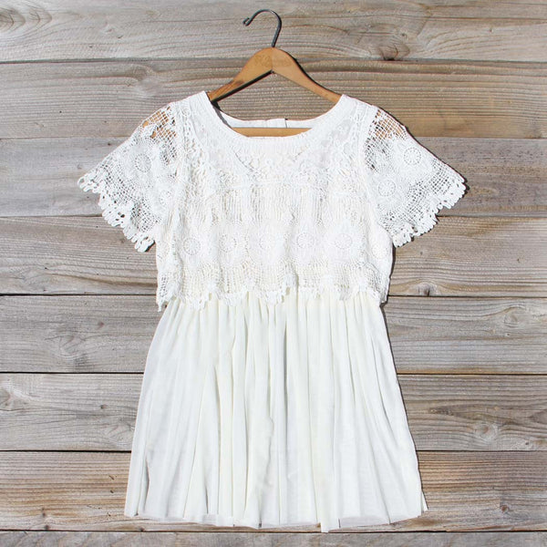 Boheme Lace Tunic: Featured Product Image