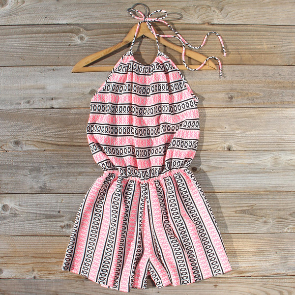 Braided Gypsy Romper: Featured Product Image