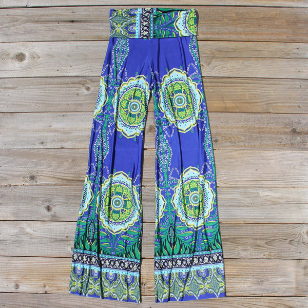Cactus Legend Pants in Blue: Featured Product Image