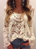 Laced in Snow Blouse (wholesale): Alternate View #4