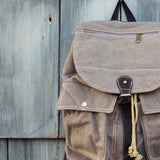Cheyenne Rugged Backpack in Brown: Alternate View #2