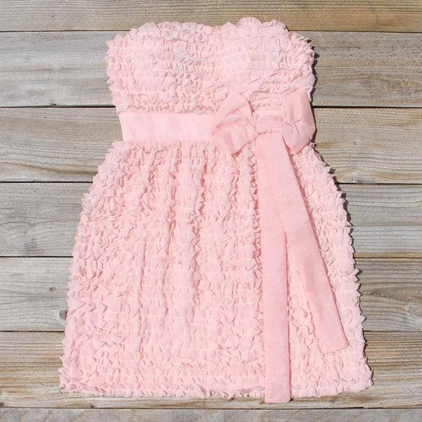 Chiffon Tart Dress in Peony: Featured Product Image