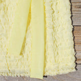 Chiffon Tart Dress in Lemon: Alternate View #3