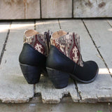 The Cooper Kilim Bootie in Black: Alternate View #4