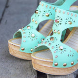 Dewmist Wedge Sandals: Alternate View #2