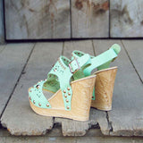 Dewmist Wedge Sandals: Alternate View #3