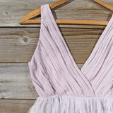 Drizzling Mist Dress in Dusty Lavender: Alternate View #2