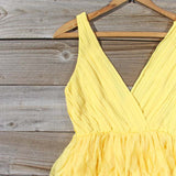 Drizzling Mist Dress in Lemon: Alternate View #2