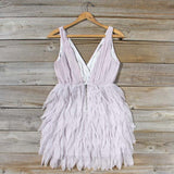 Drizzling Mist Dress in Dusty Lavender: Alternate View #4