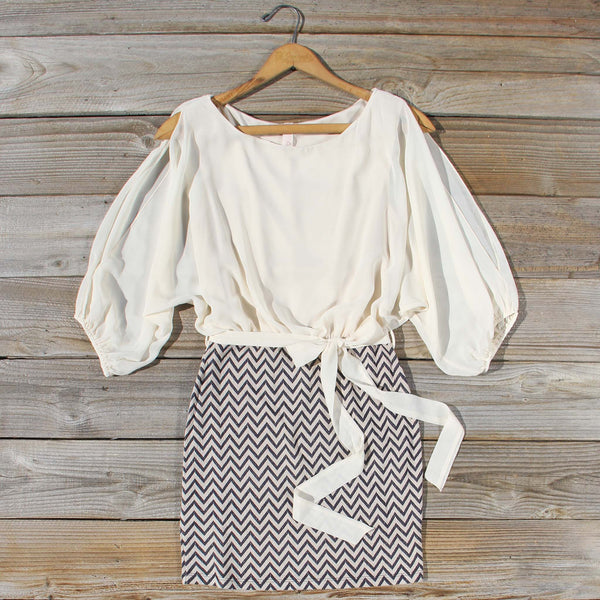 Fall Skies Chevron Dress: Featured Product Image