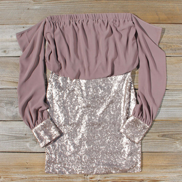 Fields of Sequins Dress: Featured Product Image