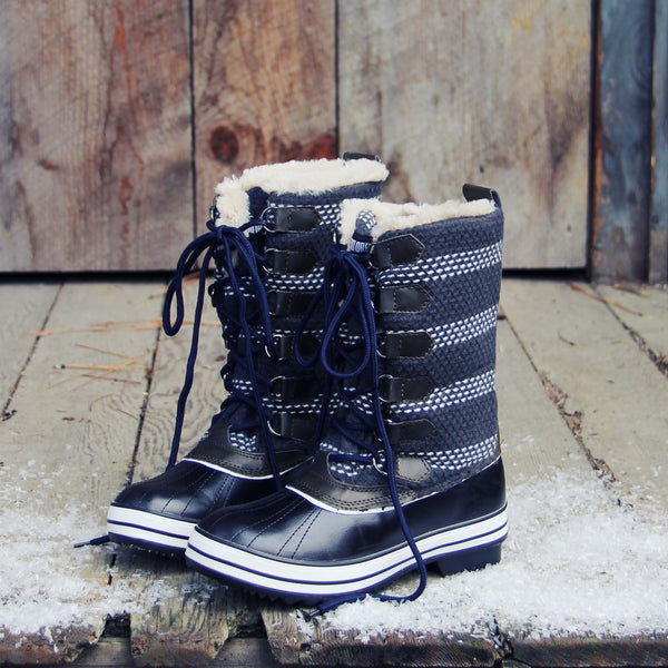 Fireside Chat Snow Boots: Featured Product Image