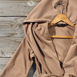 Flyaway Hoodie in Taupe: Alternate View #3
