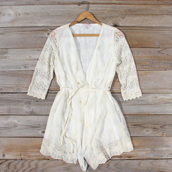 Folk Tale Tie Tunic: Featured Product Image