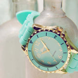 Frosted Mint Watch: Alternate View #2