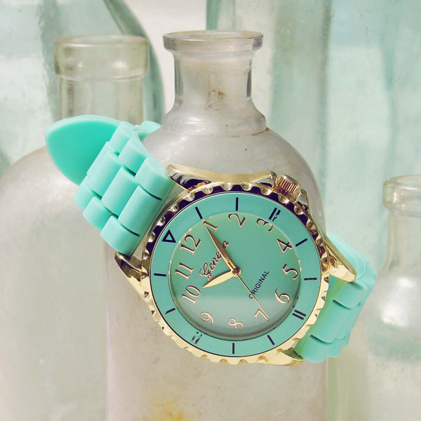 Frosted Mint Watch: Featured Product Image