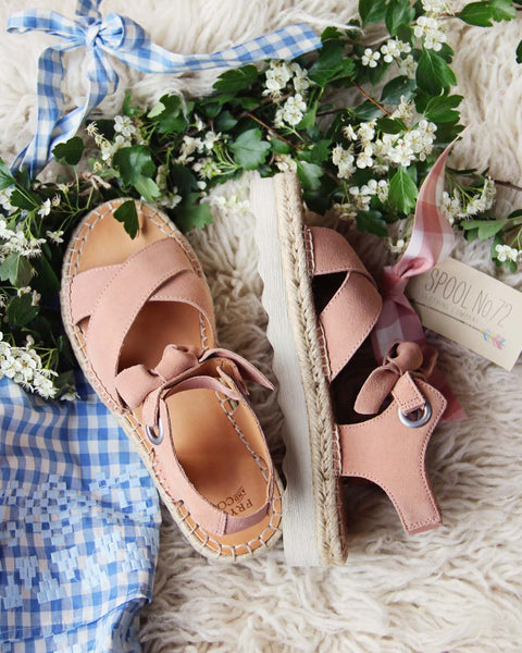 Frye Dusty Rose Sandals: Featured Product Image