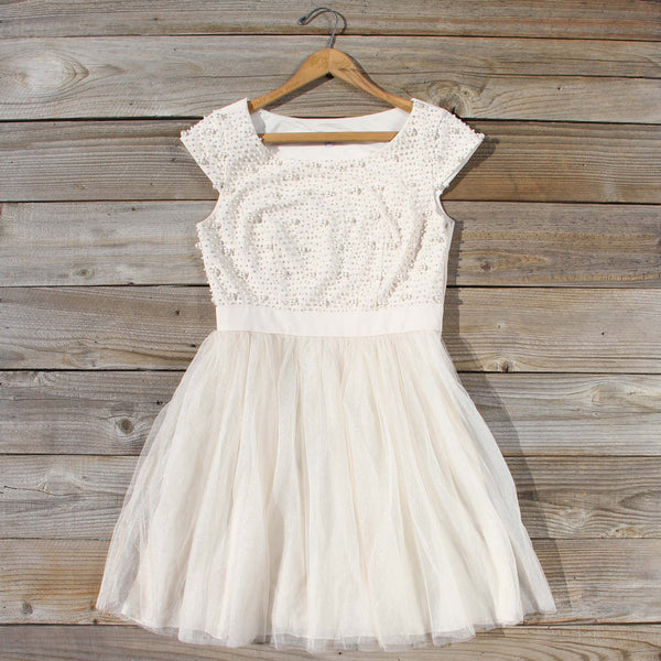 Winter Dew Beaded Party Dress: Featured Product Image