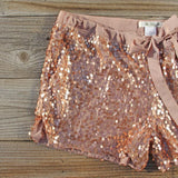Glitter Girl Party Shorts: Alternate View #2