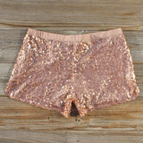 Glitter Girl Party Shorts: Alternate View #3