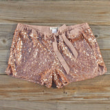 Glitter Girl Party Shorts: Alternate View #1
