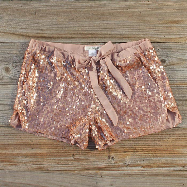 Glitter Girl Party Shorts: Featured Product Image