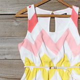 Indian Summer Chevron Dress: Alternate View #2