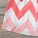 Indian Summer Chevron Dress: Alternate View #3