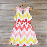 Indian Summer Chevron Dress: Alternate View #4