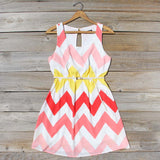 Indian Summer Chevron Dress: Alternate View #1