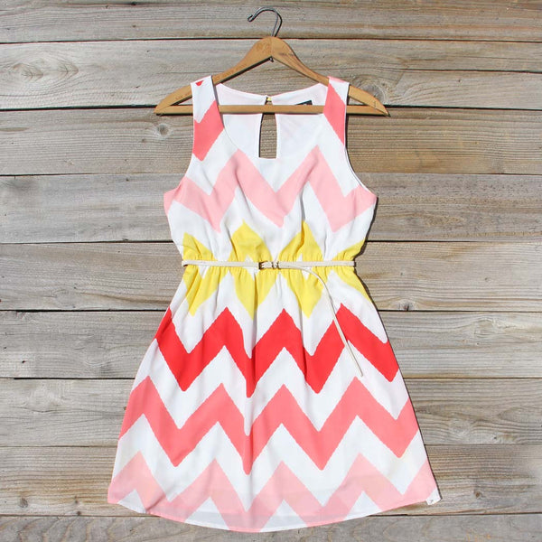 Indian Summer Chevron Dress: Featured Product Image