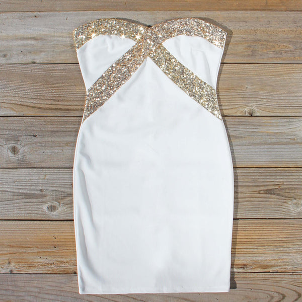 Jack Frost Party Dress in Snow: Featured Product Image