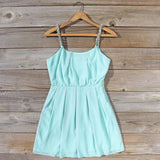 Jewel Tide Dress in Mint: Alternate View #1