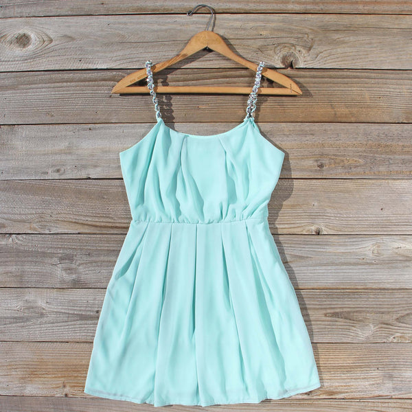 Jewel Tide Dress in Mint: Featured Product Image