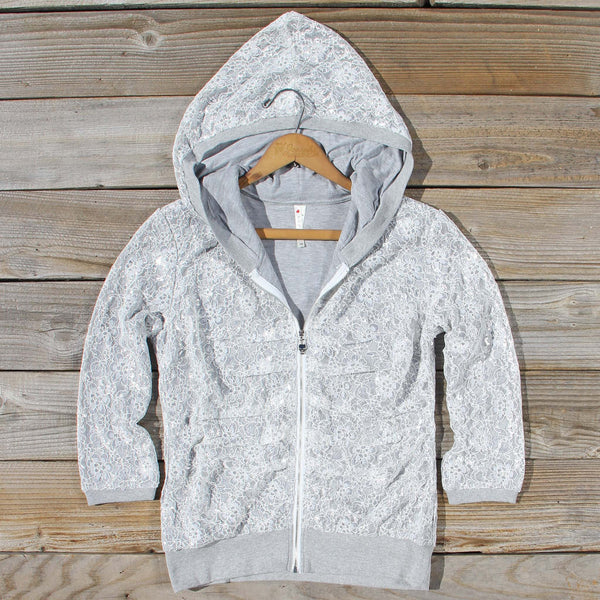 Lace Camp Hoodie: Featured Product Image