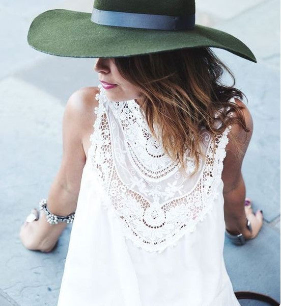 Lace Gypsy Tunic: Featured Product Image