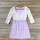 Lace & Wisteria Dress: Alternate View #1