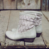Laced Path Boots in Stone: Alternate View #3