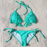 Lagoon Fringe Bikini: Alternate View #1