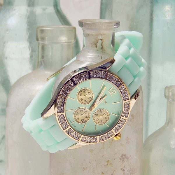 Lake Tide Watch in Mint: Featured Product Image