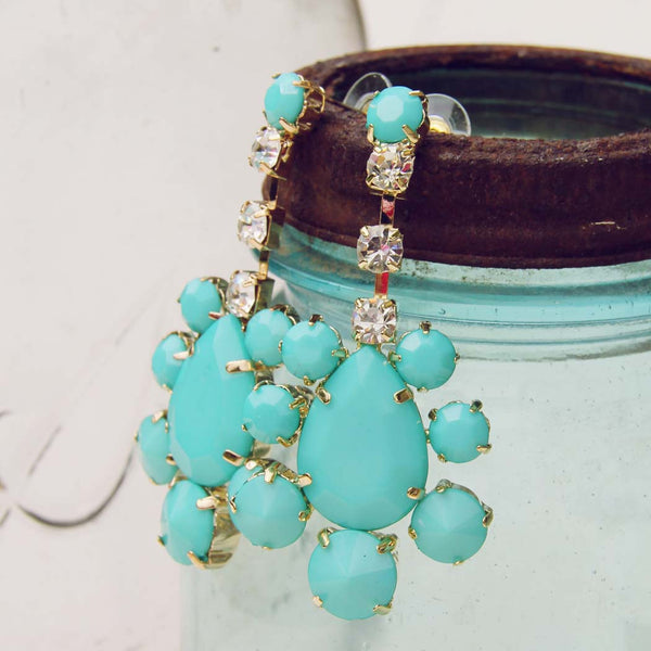 Lake Wishes Earrings: Featured Product Image