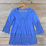 Lapis & Lace Tunic: Alternate View #1