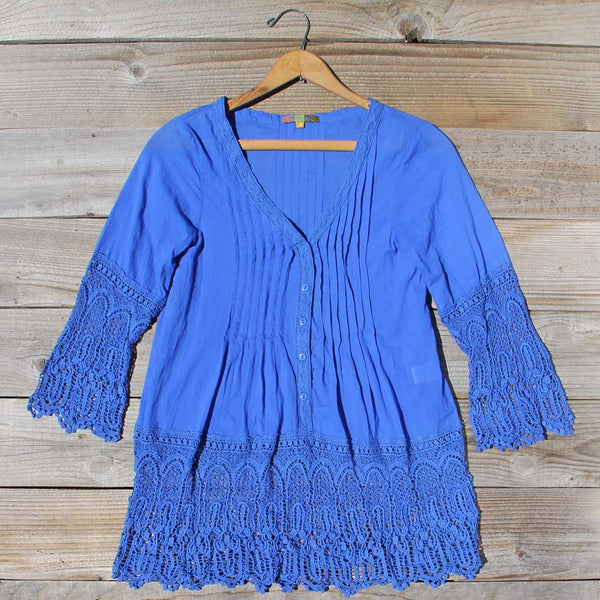 Lapis & Lace Tunic: Featured Product Image