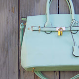 Lock & Key Mint Tote: Alternate View #2