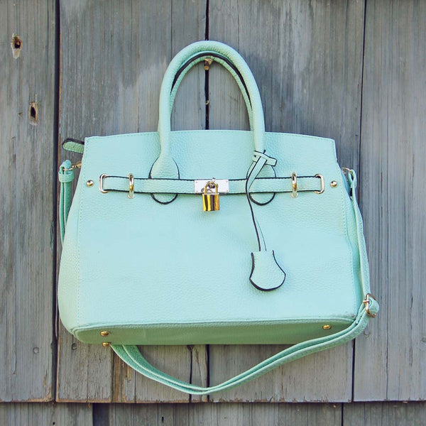 Lock & Key Mint Tote: Featured Product Image