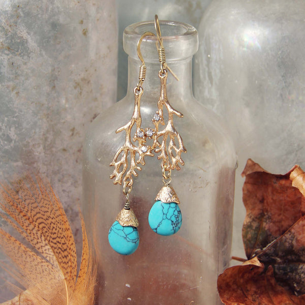 Lunar Tide Earrings: Featured Product Image